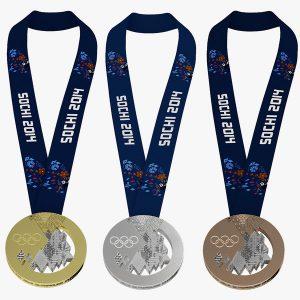 Szocsi téli olimpia medáljai