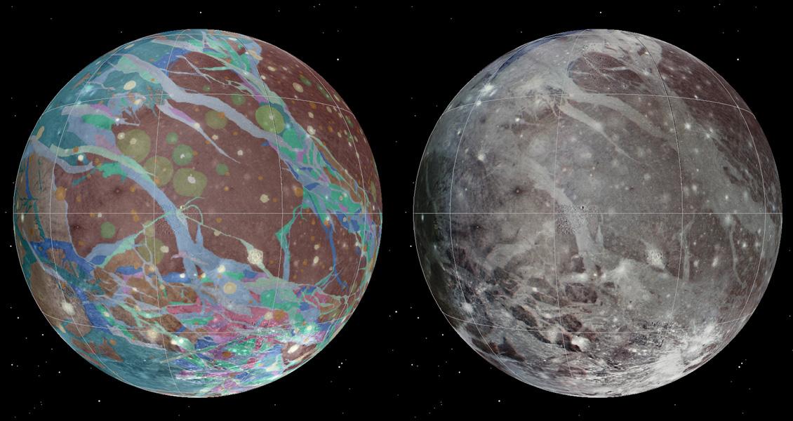 A Ganümédész a legnagyobb hold az egész Naprendszerben.