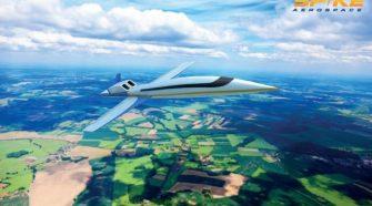 Ablakok helyett képernyők lesznek egy új szuperszonikus repülőgépen