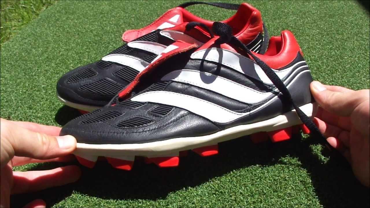 2000-2001 körül az adidas piacra dobta a Predator Precision, majd a Predator Mania irányítósávos cipőt