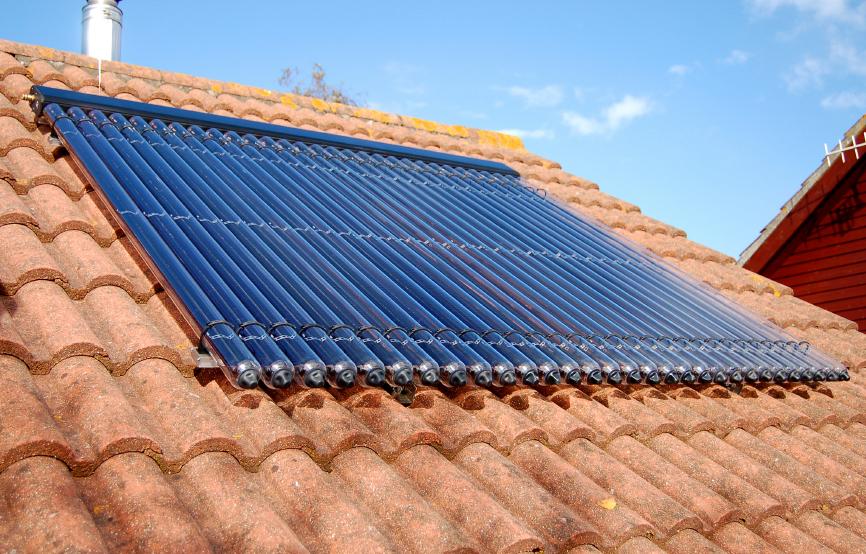 energetikai fejlesztések- napkollektor