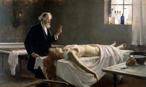 Kevés a holttest - panaszkodnak a vallon egyetemek - Enrique_Simonet-La_autopsia 1890
