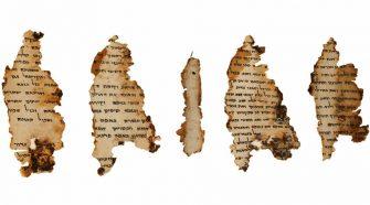 Újabb bibliai szövegű Holt-tengeri tekercset azonosítottak izraeli régészek