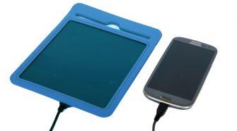 napelemes USB-töltő