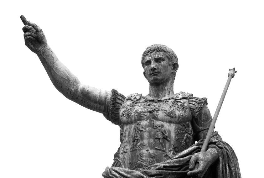 Augustus császár halálának 2000. évfordulójára emlékeznek Rómában