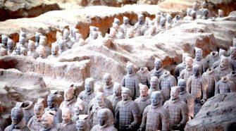 Feltételezhetően a kínai agyaghadsereg építőinek sírjait fedezték fel kínai régészek