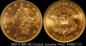 Több mint 27 kilogrammnyi aranykincset hoztak fel a kaliforniai aranyláz idején Dél-Karolina partjainál elsüllyedt hajóból