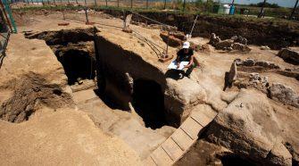 Etruszk arisztokratasírok leleteit mutatja be kiállítás az olaszországi Vulciban