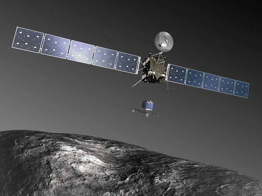 A Rosetta űrszoda elérte a Csurjumov-Geraszimenko üstököst