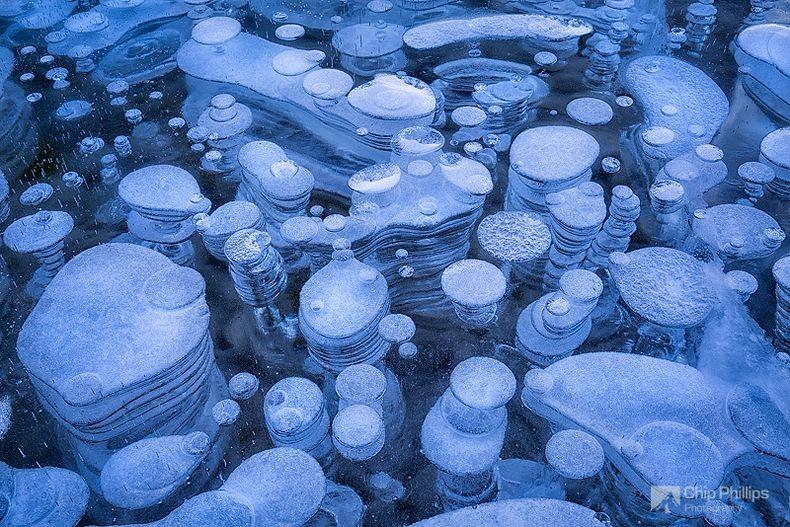 A jég csodálatos megjelenései - Abraham tó