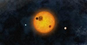 Öt földméretű bolygó egy ősi csillag körül