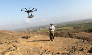 Régészet csúcstechnológiával - Drón a Cerro Chepen felett