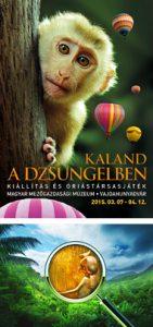 Kaland a dzsungelben – Kiállítás és óriástársasjáték