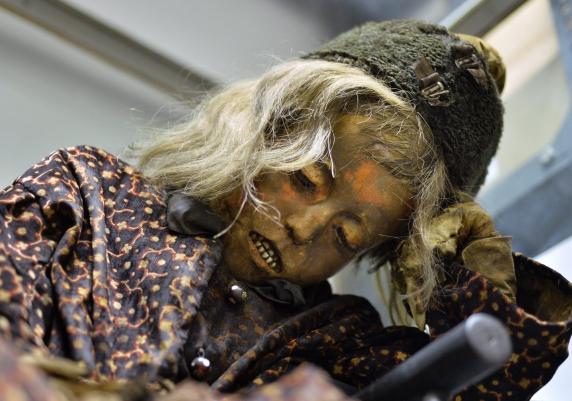 Arányi Zoltán múmiája újra látható