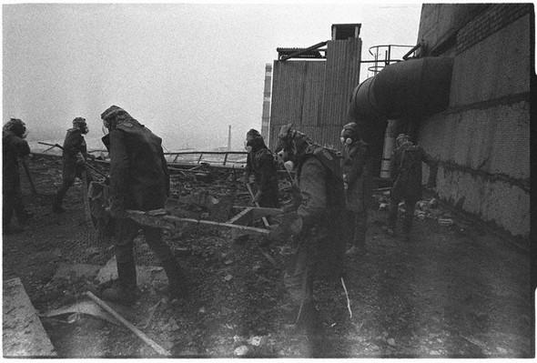 Az első fotók Csernobilról