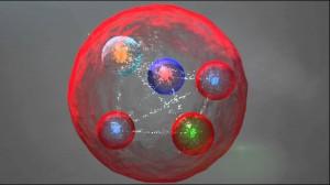 Pentakvark - Újfajta egzotikus részecske a nagy hadronütköztetőben