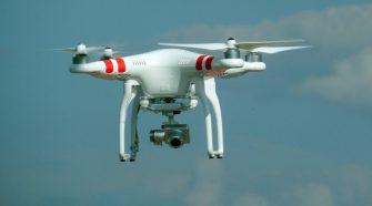 Légi felvételeket készítő drónok