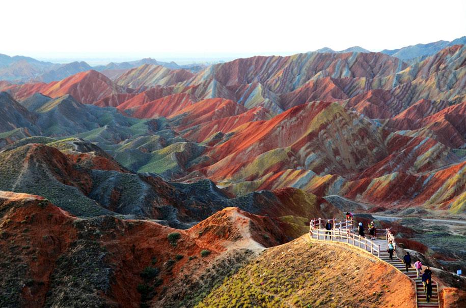 Elképesztő fényképek-Zhangye Danxia Nemzeti Park