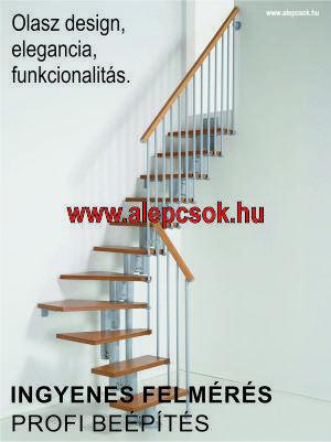 Olasz design lépcsők - www.alepcsok.hu