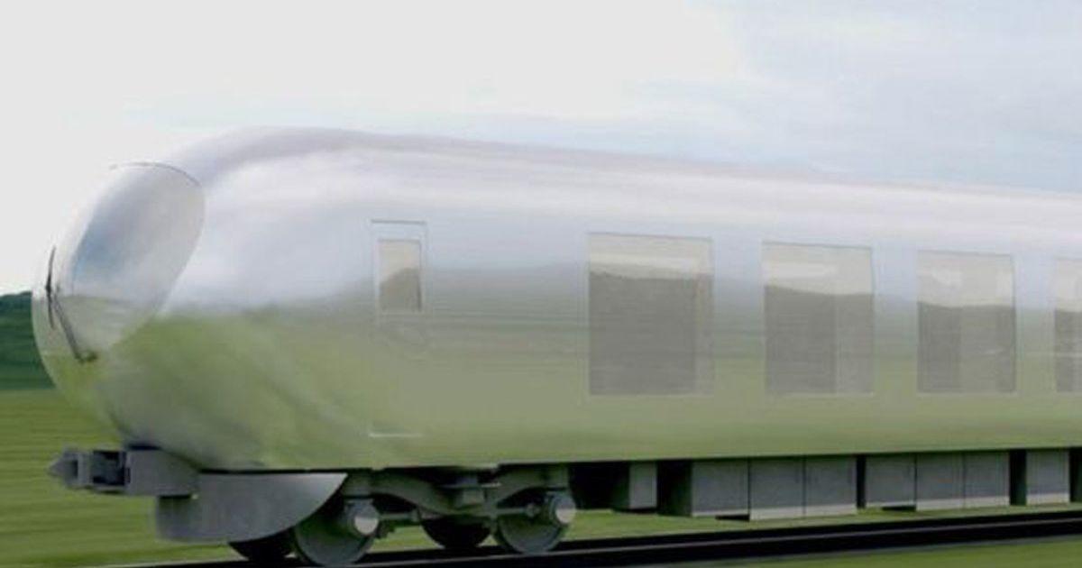 Japán újítása - a láthatatlan vonat