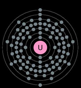 Az urán az 51. leggyakrabban előforduló elem.