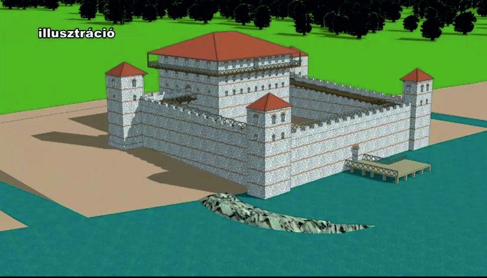 Római kori erőd tornyát tárták fel Környén