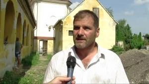 Szabó Ádám - Római kori erőd tornyát tárták fel Környén