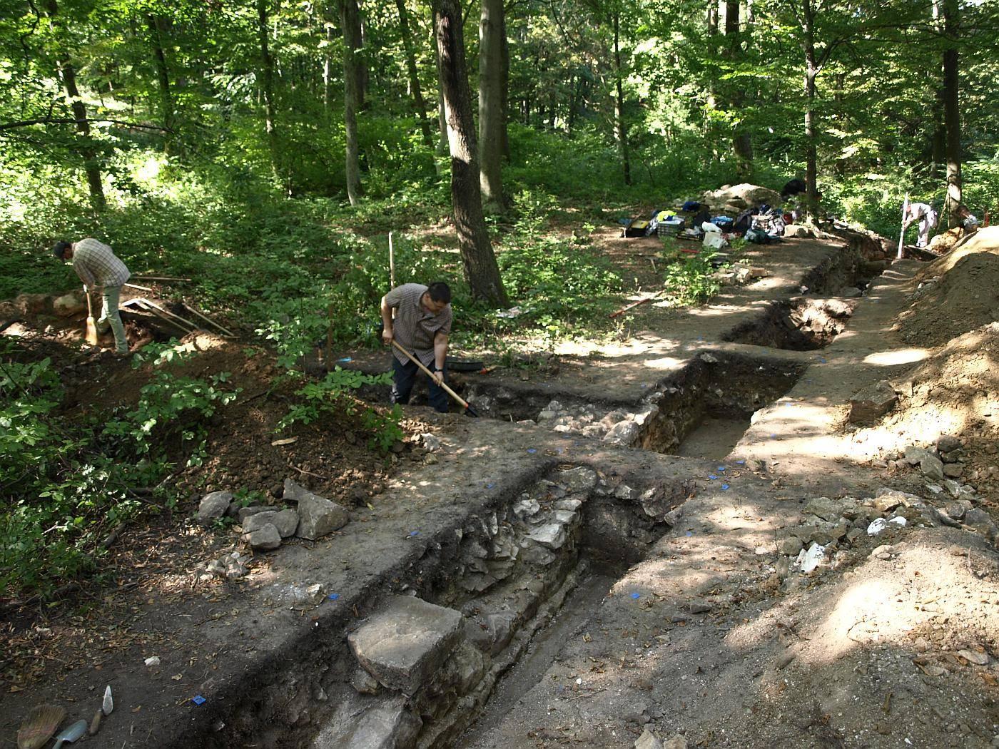 Pálos rendi kolostor romjait tárták fel Zalában