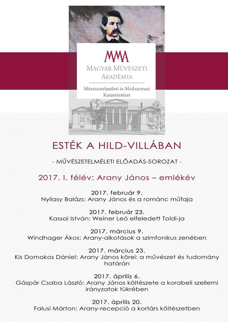 Esték a Hild-villában - Művészetelméleti előadássorozat
