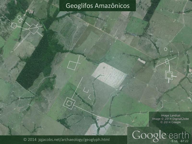 450 óriás geoglifát fedeztek fel az Amazonas esőerdőiben