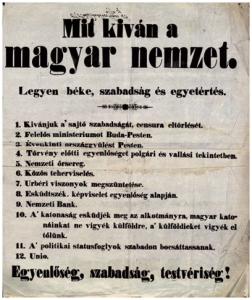 Sajtószabadság, mit kíván a magyar nemzet
