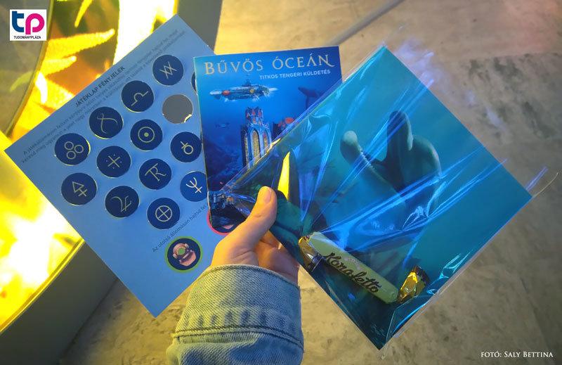 A bűvös óceán kiállításon minden lelkes résztvevőt megjutalmaztak kalandozásai végén.