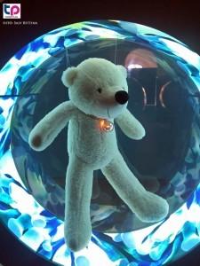 A bűvös óceán második állomásán egy csodálatos átváltozáson átesett jegesmedvével találkozhatnak az oda látogatók.