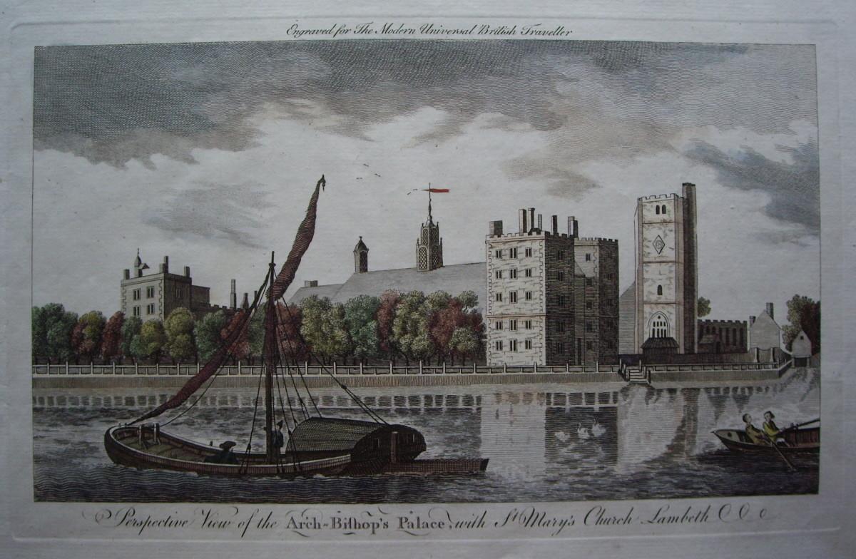 Titkos londoni kripta öt canterbury érsekkel