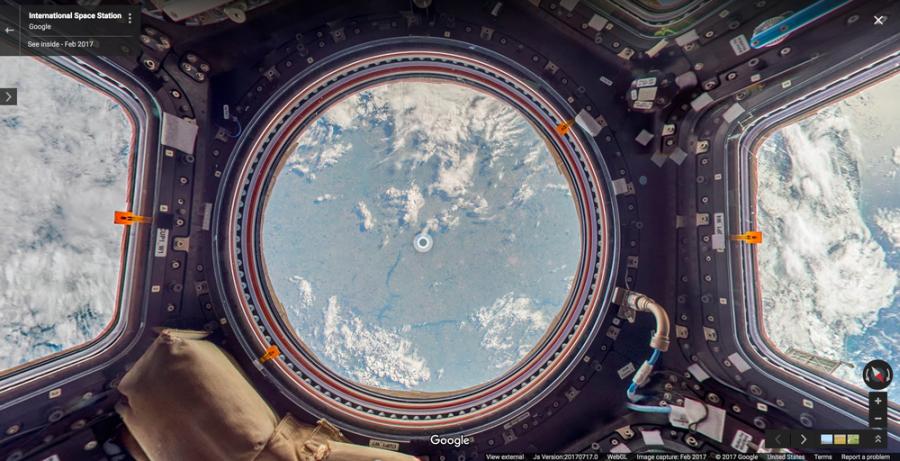 Panorámafelvételek a Nemzetközi Űrállomásról - TUDOMÁNYPLÁZA