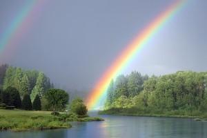 A szivárvány és más égi jelenségek - kettős szivárvány