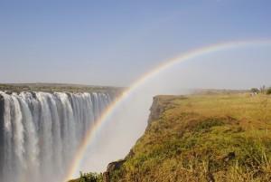 A szivárvány és más égi jelenségek - vízesésnél