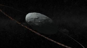 Gyűrűt fedeztek fel a Haumea törpebolygó körül