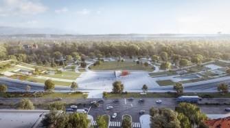 Ilyen lesz a Városliget kapujaként is funkcionáló új Néprajzi Múzeum épülete