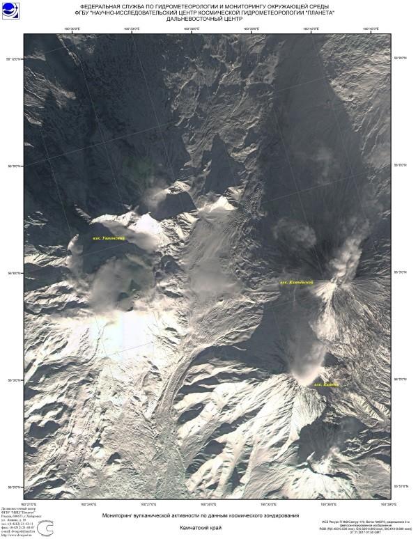 Sivelucs vulkán felvétel