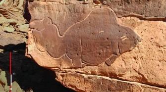 Kétezer éves sziklafaragványok Szaúd-Arábiában