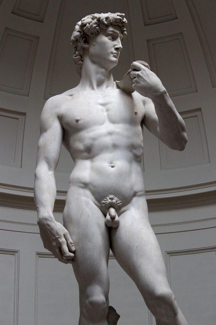 Michelangelo Dávid szobra - TUDOMÁNYPLÁZA - Évezredek