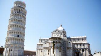 Miért földrengésálló apisai ferde torony?