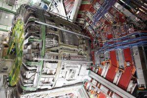 A CMS-kísérlet szolenoid mágnese, a 2013-as leállás idején. (CERN / CMS, Michael Hoch)