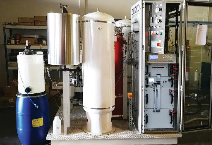 A hidrogén-elektrolízis lehetőségét biztosító berendezések a vizet oxigénre és hidrogénre választják szét, így csökkenthető az energiatermelő rendszerek környezetterhelése.
