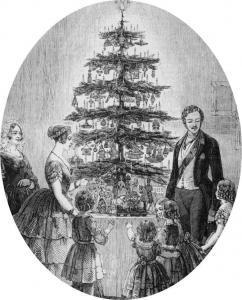 Viktória királynő karácsonyfája