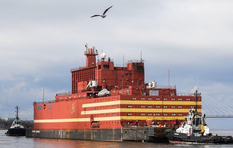 Üzemel a Lomonoszov Akadémikus úszó atomerőmű első reaktora