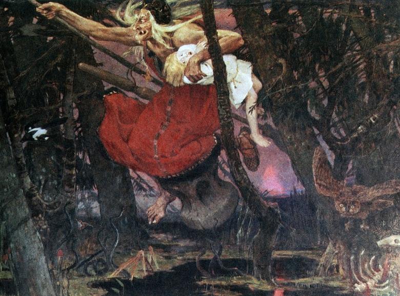 baba jaga az ősi boszorkány