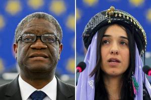 Nobel-békedíjaz kapott megosztva ezt a két ember a szexuális erőszak elleni cselekedeteiért.