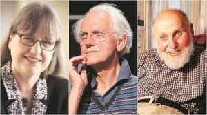 2018 fizikai Nobel-díjat kapta megosztva e három jeles ember.